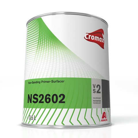 Cromax Non-Sanding Primer NS 2602 Weiss 3.5 ltr.