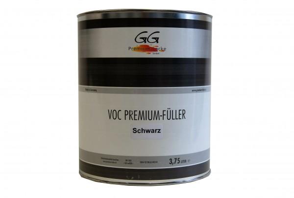 GG Premium VOC Füller schwarz 3.75 ltr