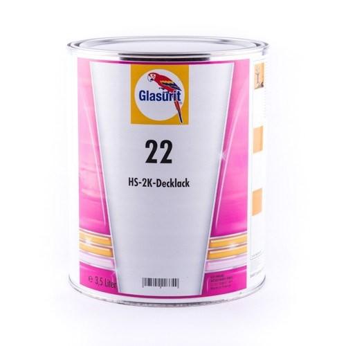 Glasurit 22-1250 Tiefschwarz 1lt