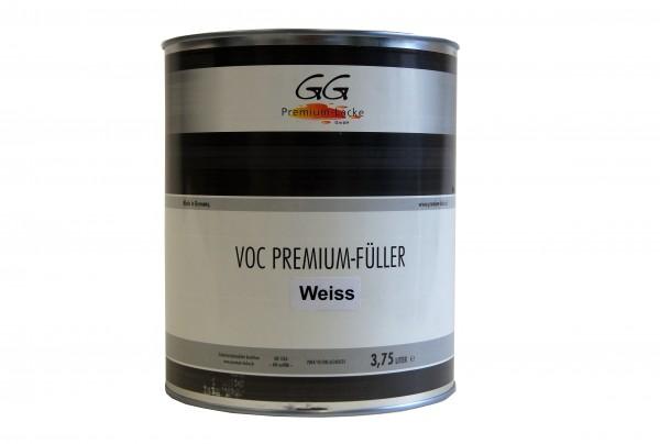 GG Premium VOC Füller weiss 3.75 ltr