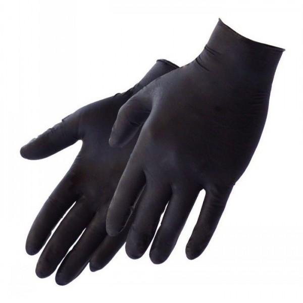 GG Handschuhe, Nitril, schwarz, Gr.XL 100st