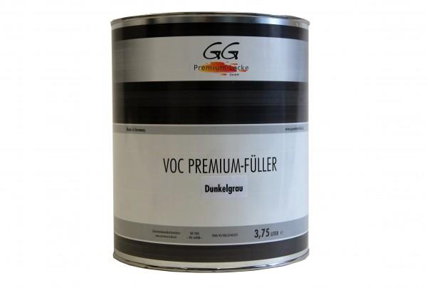GG Premium VOC Füller dunkelgrau 3.75 ltr