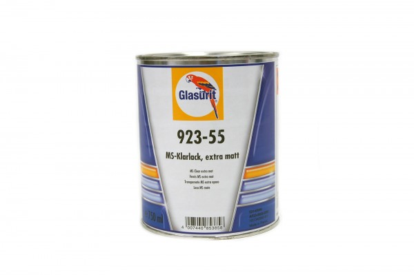 Glasurit 923-55 MS-KLarlack extra matt 0.75lt