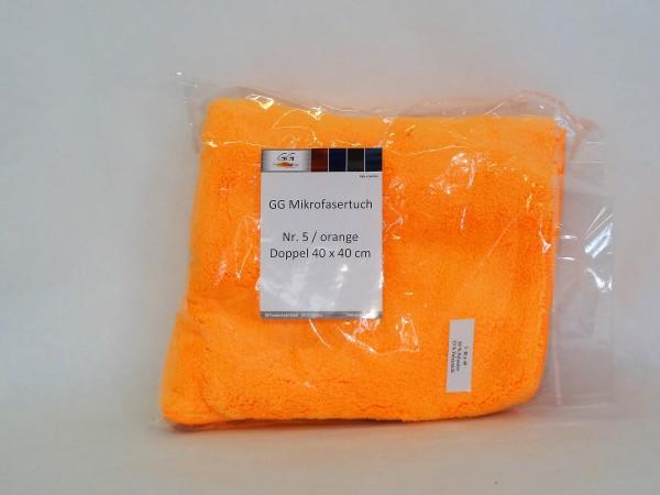 GG Mikrofasertuch Nr. 5 orange 1st