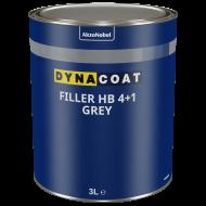 553327 DYNA Füller HB 4+1 grau /Set