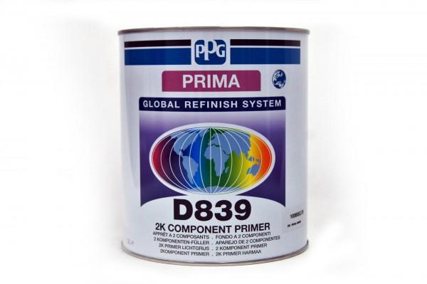 PPG Prima 2K Füller hellgrau P-D839 3lt