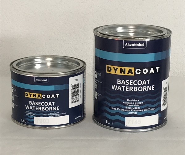 Dynacoat WB 7966P Perlmutt blau, fein 0.5lt