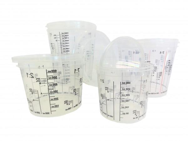 GG Lackmischbecher 1400 ml mit Skala 200st