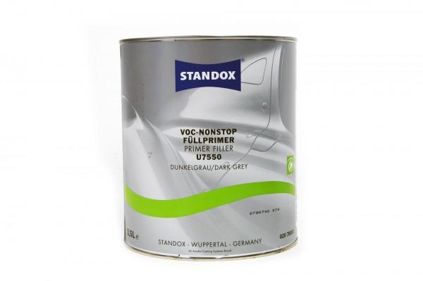 Standox VOC Nonstop Füllprimer dunkelgrau U7550 3.5lt