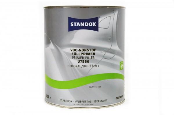 Standox VOC Nonstop Füllprimer hellgrau U7550 3.5lt