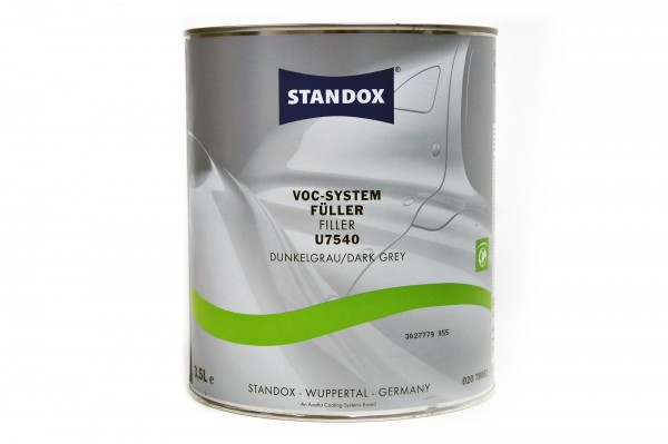 Standox VOC System Füller dunkelgrau U7540 3.5 ltr