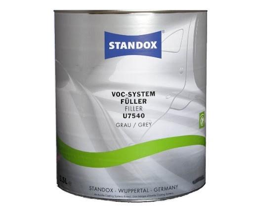 Standox VOC System Füller mittelgrau U7540 3.5lt