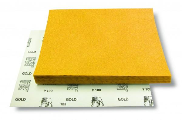 Mirka Gold 230x280mm Bogen P100 50st