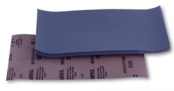 Mirka Nassschleifpapier P2000 140x230mm 50st