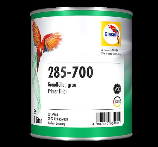Glasurit 285-700 HS Grundfüller grau 4lt