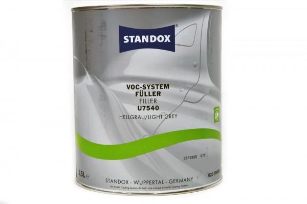 Standox VOC System Füller hellgrau U7540 3.5 ltr