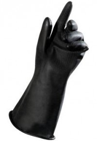 LZ Nitrilhandschuh schwarz 1Paar
