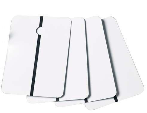 LZ Musterblech 105 x150 Weiss 200st