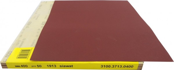 SIAwat Nassschleifpapier P600 50st