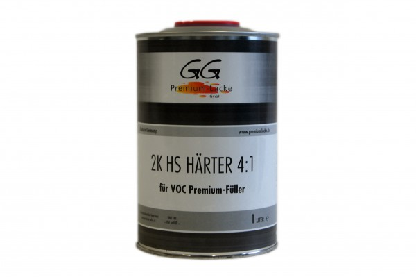 GG Premium VOC Füller Härter extra kurz 1lt