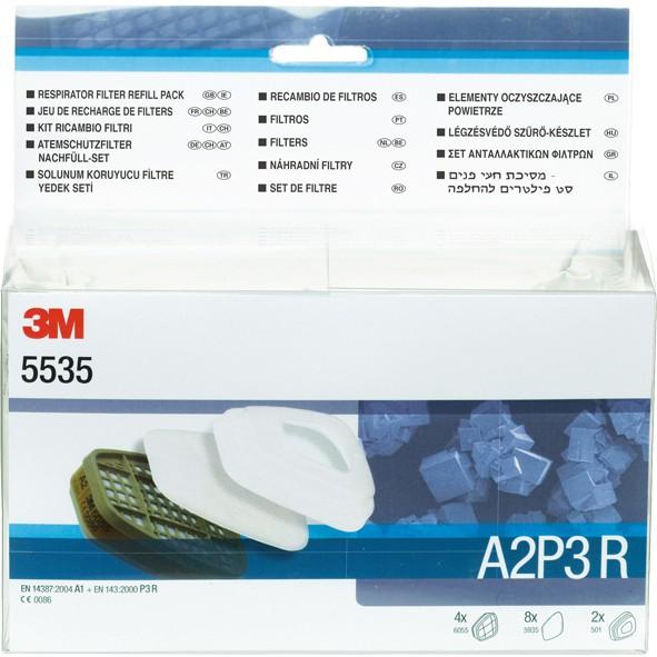 3M Filter-Nachfüllkit A2P3 Serie 6000+7500 1Set